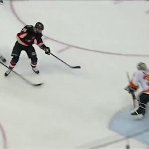 Clarke MacArthur chips one on the breakaway