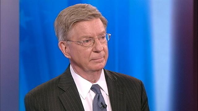 George Will: Gay Marriage Opposition Dying