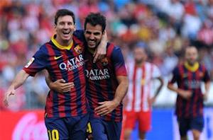 Fabregas: Messi should take time to recover