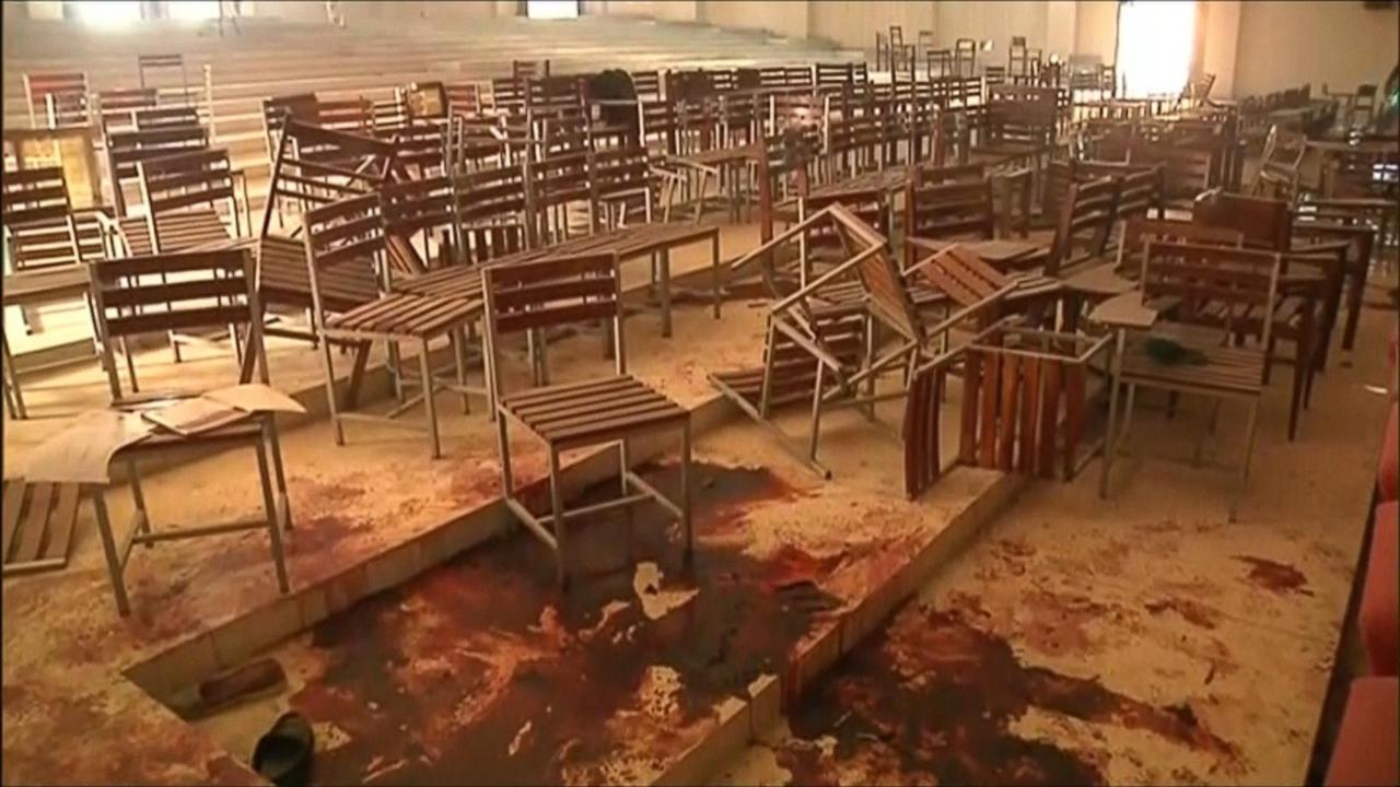Images Show Horror, Devastation Inside Pakistan School Taliban Attacked