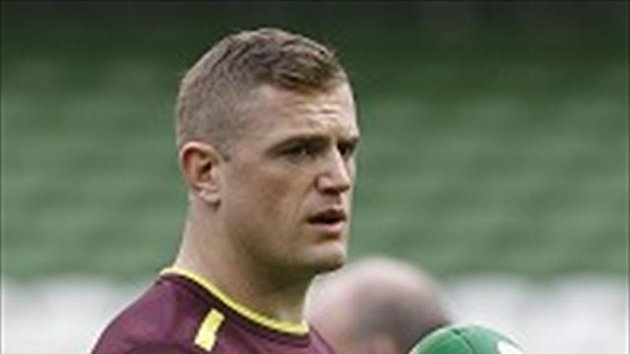 Jamie Heaslip is pleased with the way he is playing