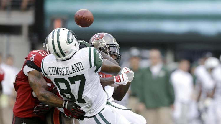 Bucs' Goldson fined $30K by NFL, Jets' Landry $21K