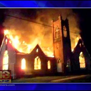 Early Morning Fire Destroys 160-Year-Old Carroll County Church