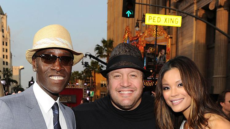 Iron Man 2 LA Premiere 2010 Don Cheadle Kevin James