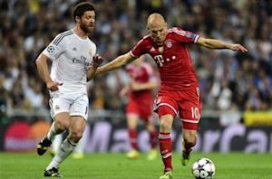 Robben: I expected more from Real Madrid