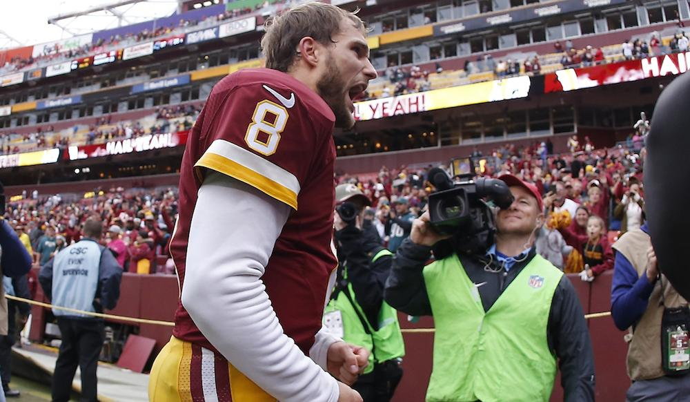 How Cousins managed to get it done this time vs. Eagles