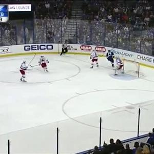 Henrik Lundqvist Save on Ryan Callahan (06:00/3rd)