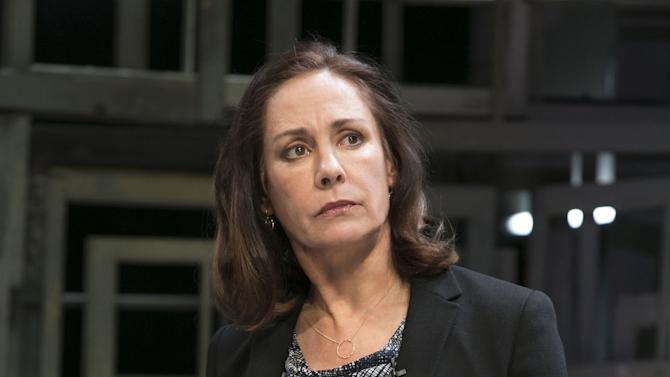 """This undated theater image released by Boneau/Bryan-Brown shows actress Laurie Metcalf during a performance of """"The Other Place."""" (AP Photo/Boneau/Bryan-Brown, Joan Marcus)"""