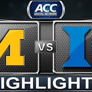 Michigan vs Duke | 2013 ACC Basketball Highlights