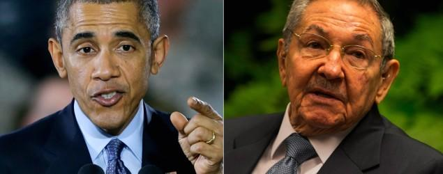 Obama announces new diplomatic talks with Cuba