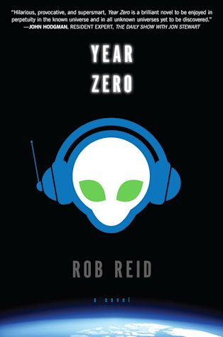 "This book cover image released by Del Rey shows ""Year Zero,"" by Rob Reid. (AP Photo/Del Rey)"