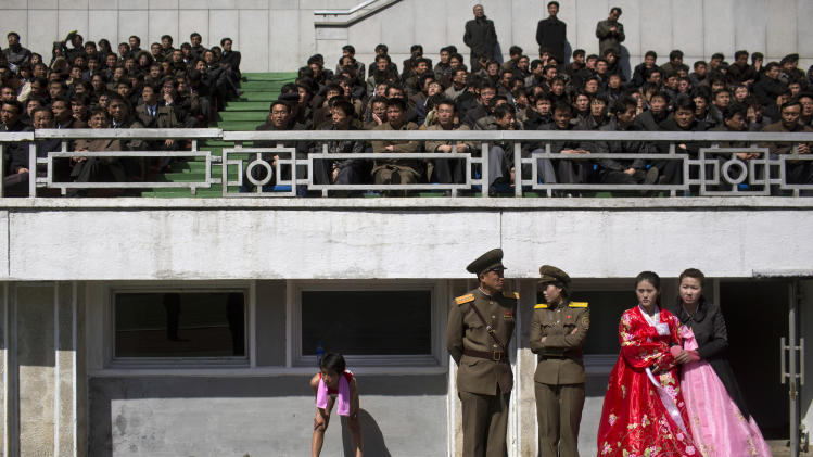 Despite tension, NKorea lets in tourists, athletes