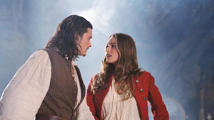 Pirates of the Caribbean The Curse of the Black Pearl 2003 Walt Disney Pictures Orlando Bloom Keira Knightley