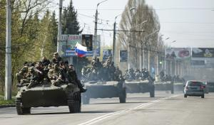 Pro-Russian activists in Eastern Ukraine