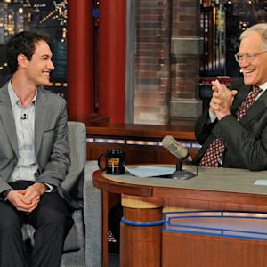 Daytona 500 Winner, Joey Logano - David Letterman