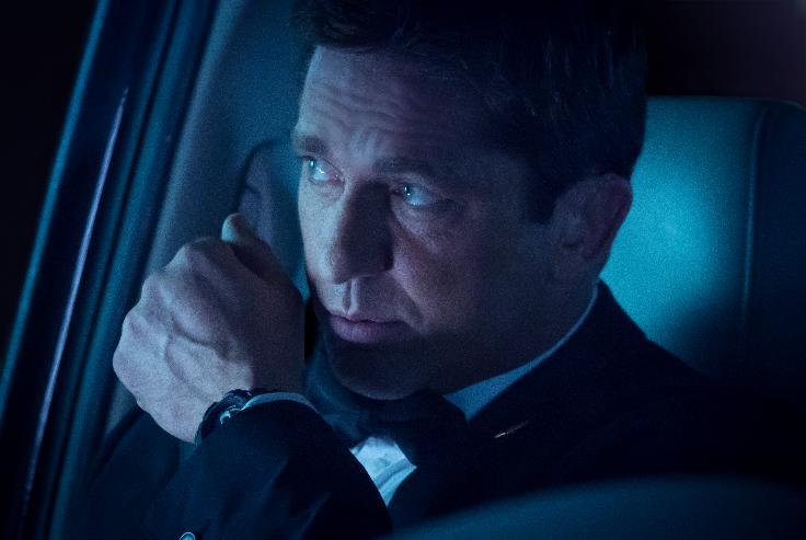 "This film image released by FilmDistrict shows Gerard Butler in a scene from ""Olympus Has Fallen."" (AP Photo/FilmDistrict, Phil Caruso)"