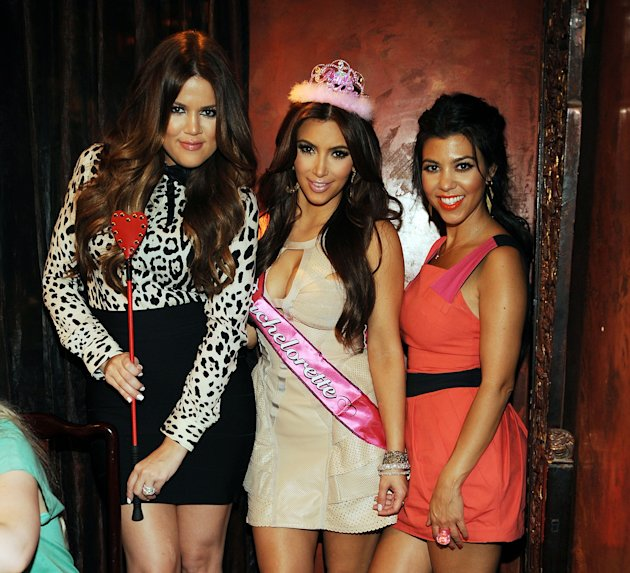 Khloe, Kim y Kourtney Kardashian / Getty
