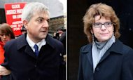 Chris Huhne And Vicky Pryce Jailed