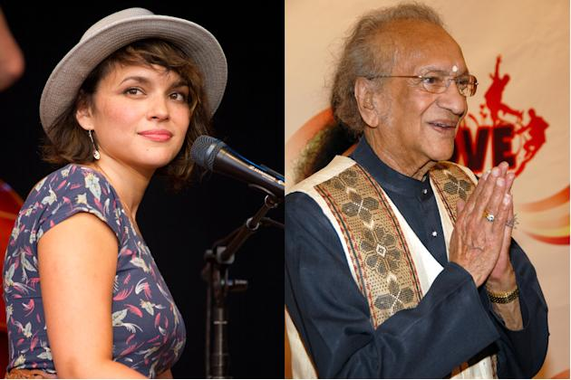 Norah Jones and Ravi Shankar