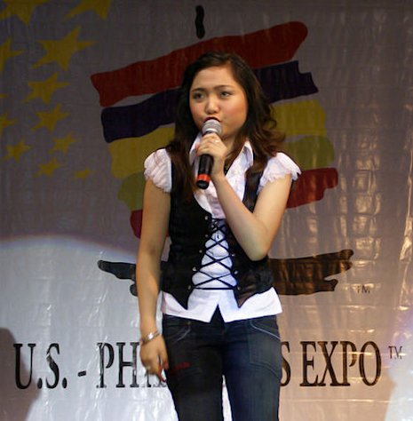 Charice Pempengco sings at US Philippine expo @ Pomona, CA
