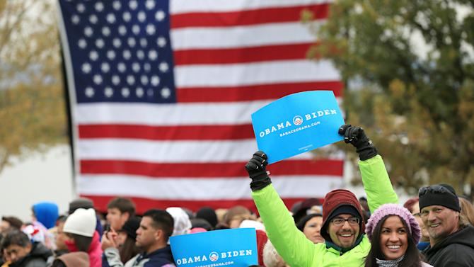 Obama Campaigns In Denver One Day After 1st Presidential Debate
