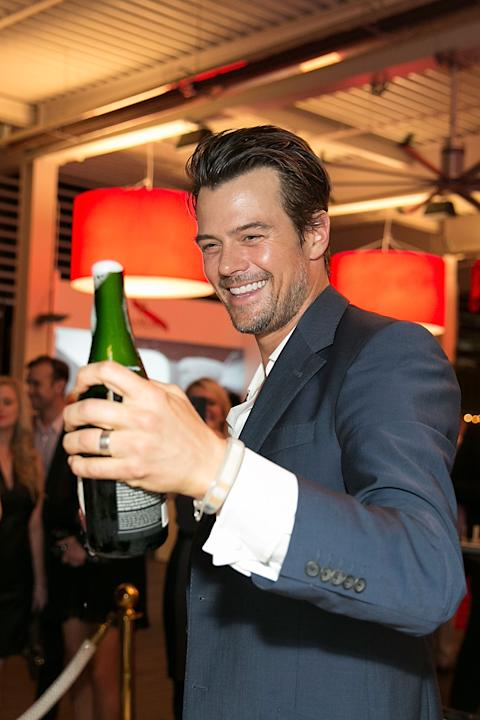 G.H. Mumm Hosts The Art Of Celebration - Formula 1 With Josh Duhamel