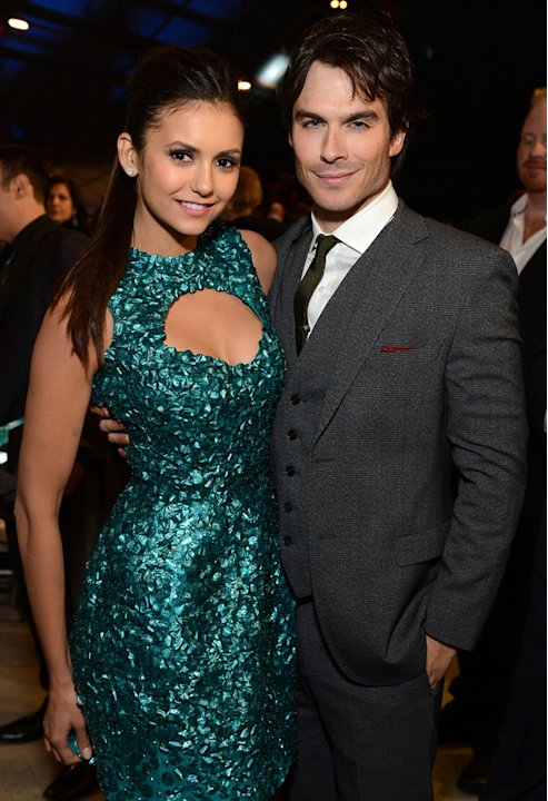 Nina Dobrev, Ian Somerhalder