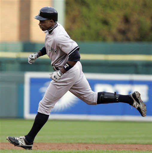 Granderson's 3-run HR help Yankees top Tigers 12-8