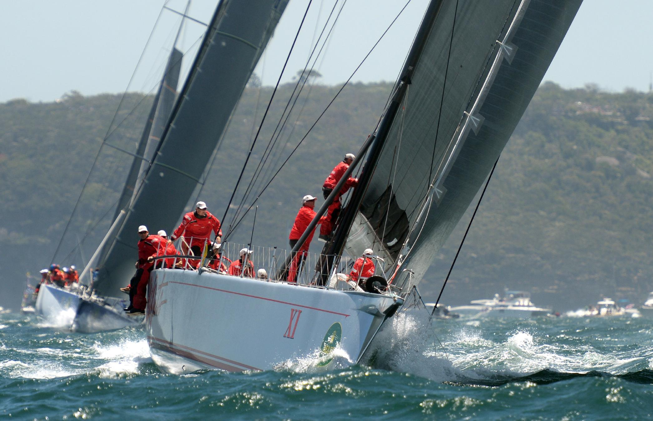Wild Oats XI leads Sydney to Hobart yacht race