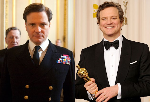 Colin Firth, Best Actor of 2010, 'The King's Speech'