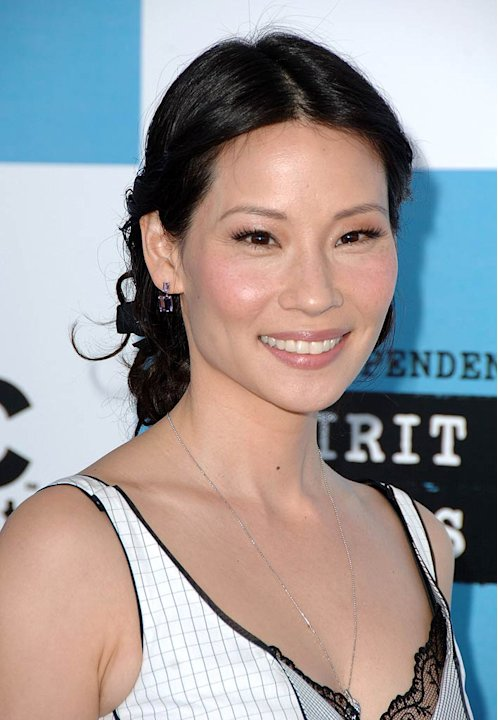 Lucy Liu at the 2007 Film Independent's Spirit Awards.