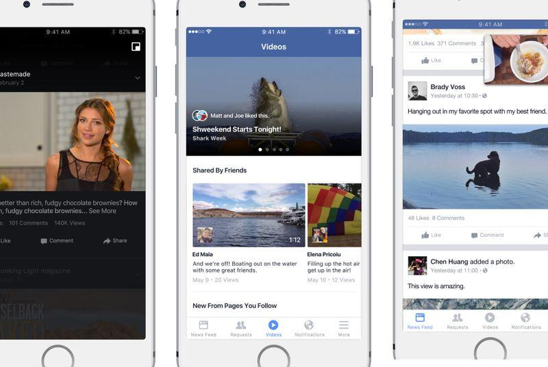 Facebook begins testing a feed just for video