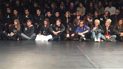 Who Even Are the 'Cool Kids' Sitting on Saint Laurent's Runway?