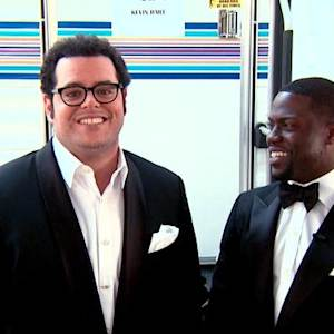 Kevin Hart & Josh Gad Compare Their Theatrical Talents
