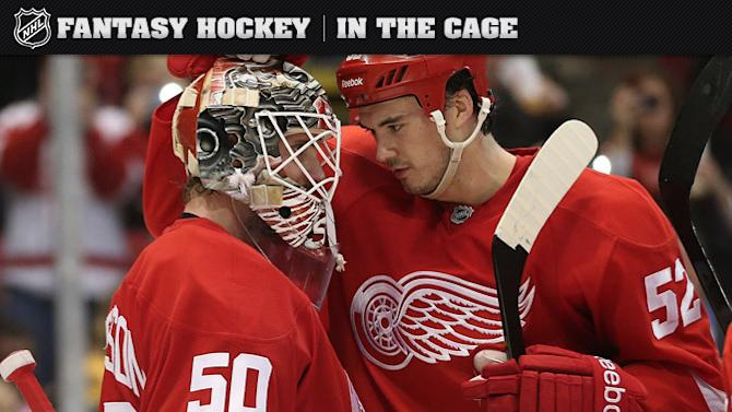 In the Cage: Red Wings' Gustavsson stepping up