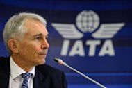 International Air Transport Association (IATA) Director General and CEO Tony Tyler, pictured in Geneva, in March. IATA on Monday forecast global profits would plummet by more than half in 2012 due to high oil prices and the ongoing eurozone crisis
