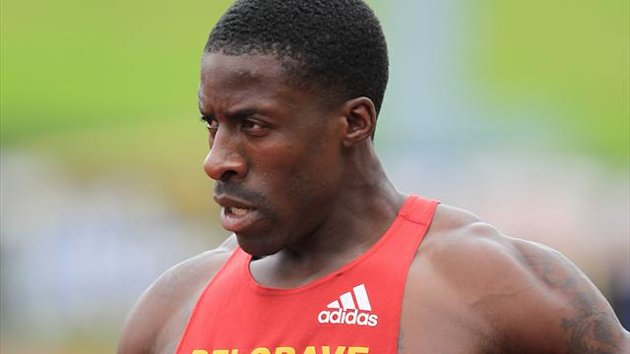 2012 GB Olympic trials - Dwain Chambers