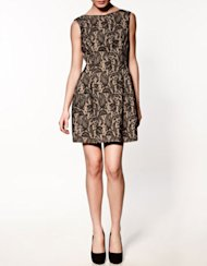 Zara's Lace Tulip dress is available for $99.