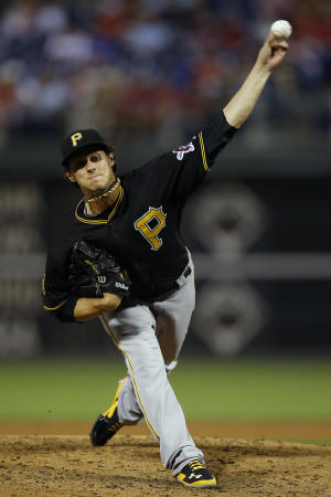 Locke keeps Pirates in wild-card hunt with 9 Ks