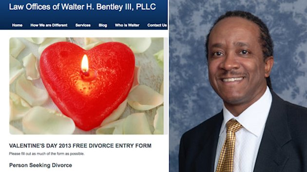 Free Divorce For Valentine&#39;s Day (ABC News)