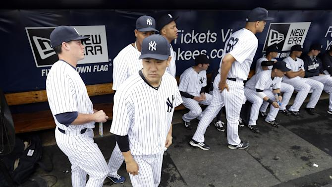 Tanaka could pitch 3rd or 4th game of season