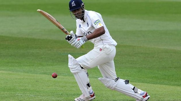 Varun Chopra, pictured, and Ian Westwood shared a 130-run opening stand