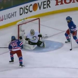 Fleury lunges over to stone Zuccarello