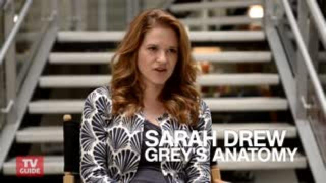 "Grey's Anatomy: Sarah Drew on April's ""emotional roller coaster"""