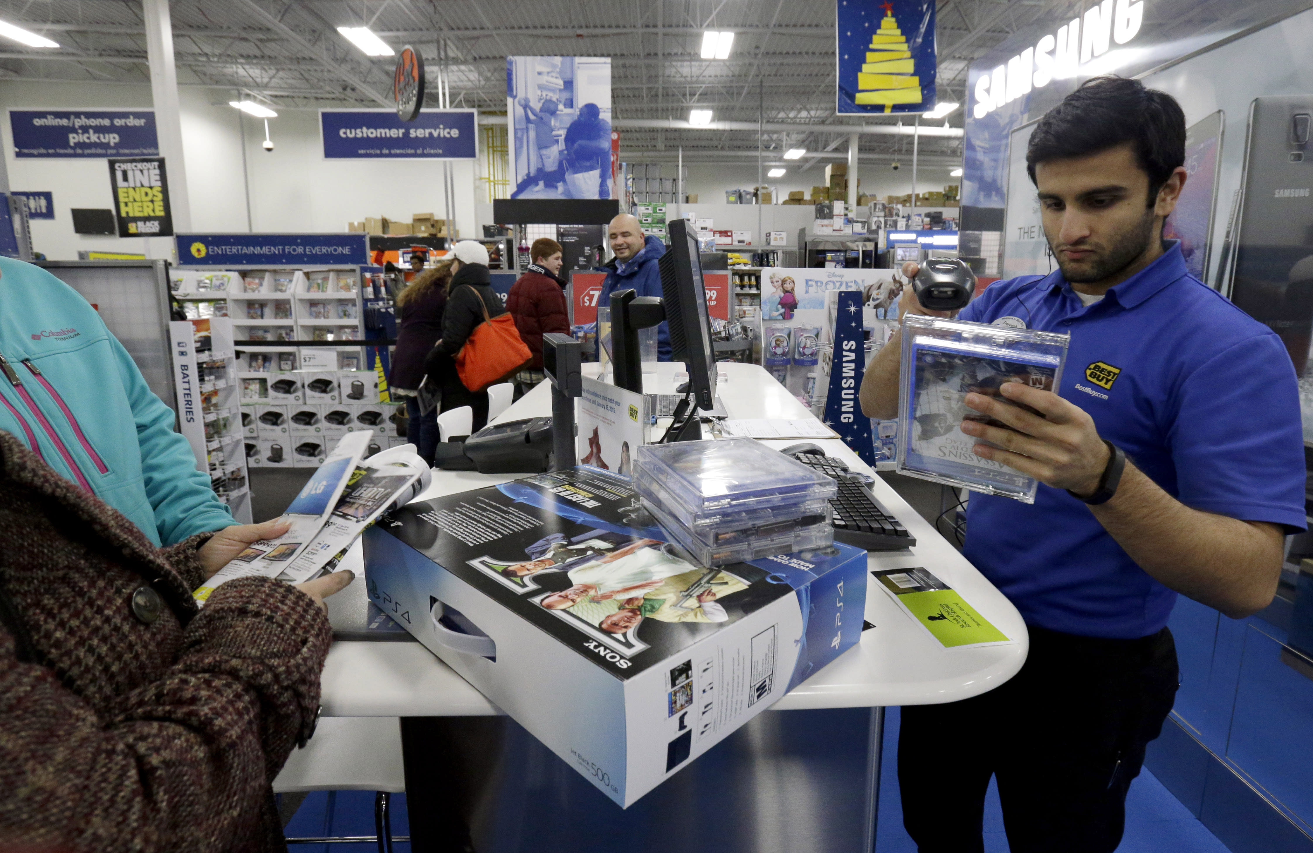 US consumer spending up solid 0.6 pct. in November