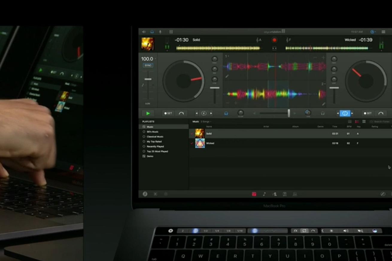 All the places a DJ might actually need to use the new Apple Touch Bar