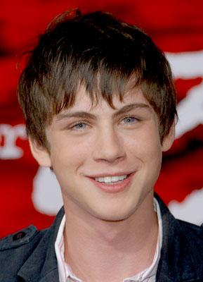 Logan Lerman at the Los Angeles premiere of New Line Cinema's The Number 23