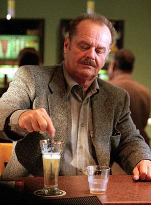Jack Nicholson as Nevada homicide detective Jerry Black in Warner Brothers' The Pledge