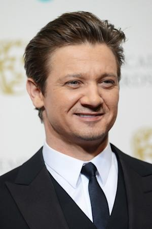 Jeremy Renner poses in the press room at The EE British Academy Film Awards 2013 at The Royal Opera House, London, on February 10, 2013 -- Getty Images