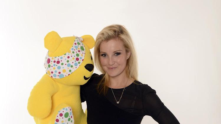 Helen Skelton seen backstage at BBC's Children in Need at Television Centre on Friday, Nov. 16, 2012, in London. (Photo by Jon Furniss/Invision for Children in Need/AP Images)